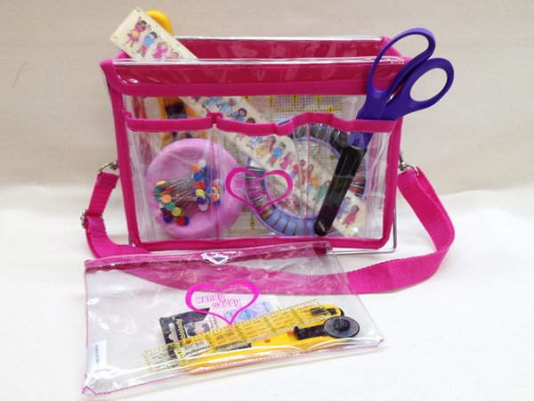 Handy Caddy & Totes- Hot Pink Handy Caddy- HPX