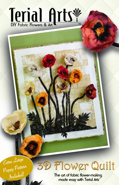 Terial Arts: 3D Flower Quilt Pattern