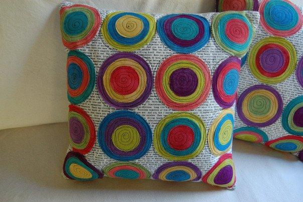 Heidi Emmett-Free Form Circle Pillow Pattern