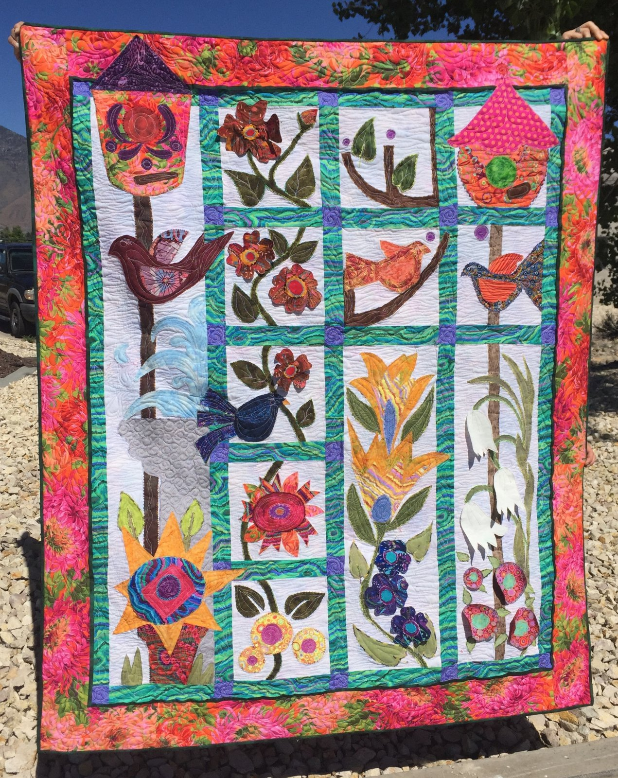 Alice's Garden Block of the Month Complete Kit