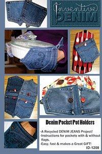 Inventive Denim: The Denim Pocket Pot Holder ID-1208
