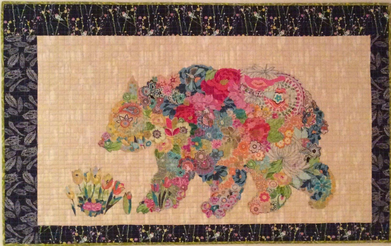 Fiberworks-Paisley Bear Pattern by Laura Heine