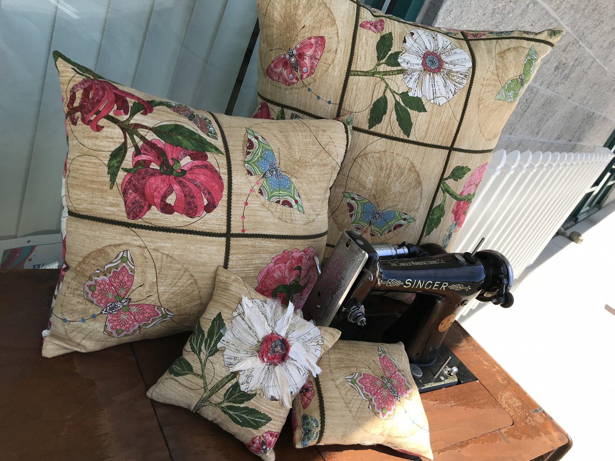 Fabric-Chicks-Serendipity Pillow Kit