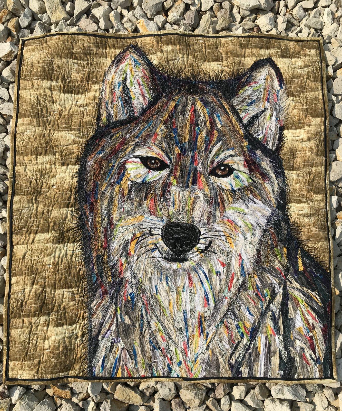 Fabric Chicks-Wolf