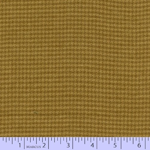 Marcus Brothers Textiles: Primo Plaids Flannel- Mustard Check- RO9-J235-0132