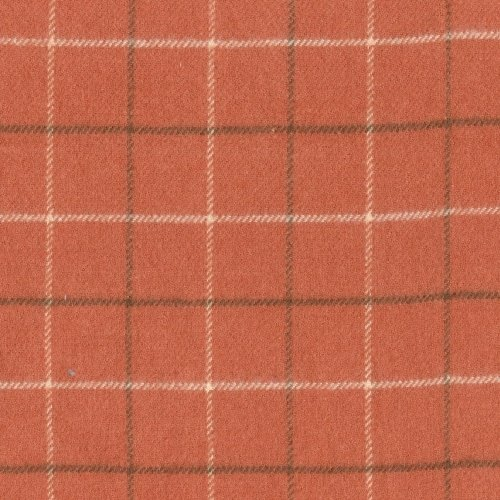 Marcus Brothers Textiles: Primo Plaids Flannel- Apricot Large- RO9-J237-0130