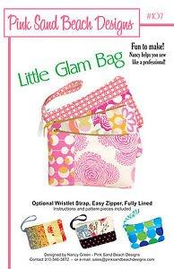 Pink Sand Beach Designs: Little Glam Bag Pattern #107