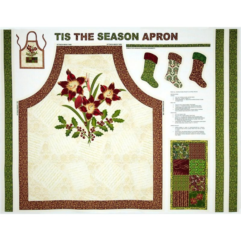 Paintbrush Studios: Tis The Season - Apron 120-A7791