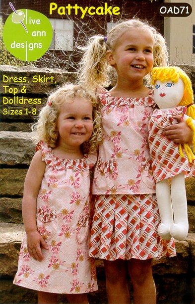 Olive Ann Designs: Pattycake Dress - OAD71