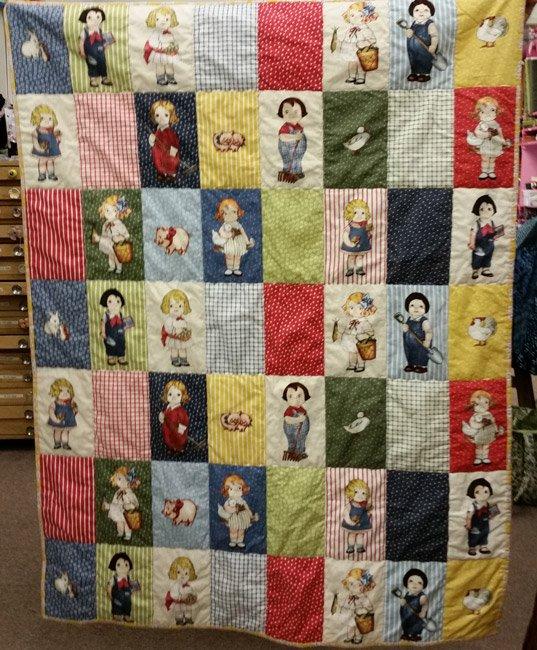 Newcastle - Paper Doll Farm Quilt Kit