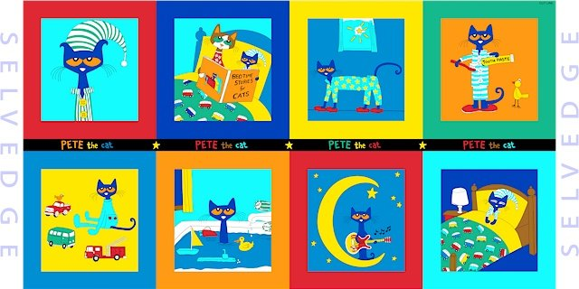 Marcus Fabrics- Pete the Cat R11-9785-0119
