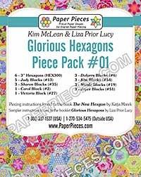 Glorious Hexagons-Piece Pack #01
