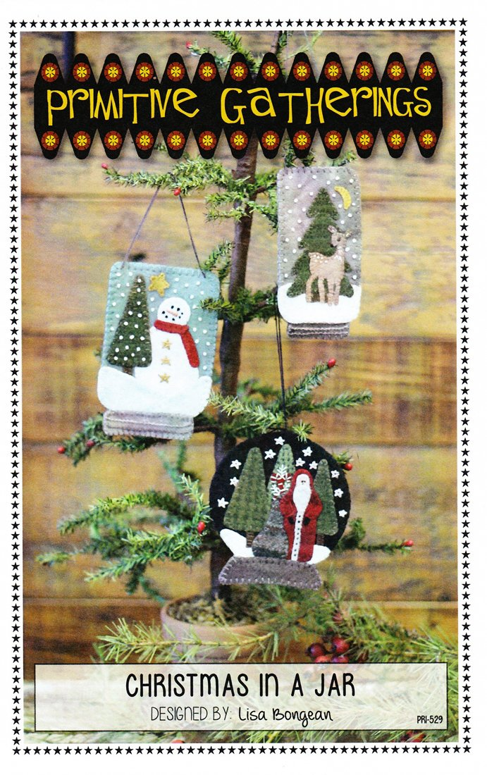 Primitive Gatherings- Christmas In A Jar PRI-529