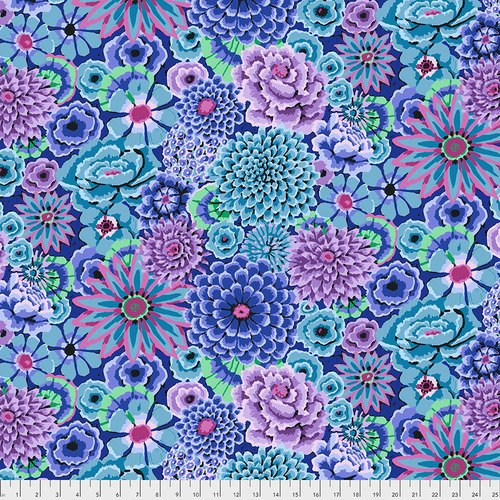 Kaffe Fassett for Free Spirit-Enchanted Blue PWGP172.BLUEX