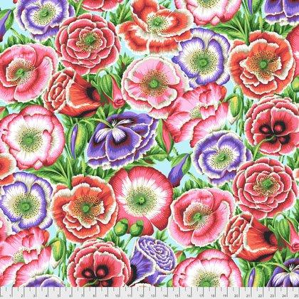 Free Spirit- Kaffe Fassett Collective- Spring 2018 Poppy Garden PWPJ095.Pink