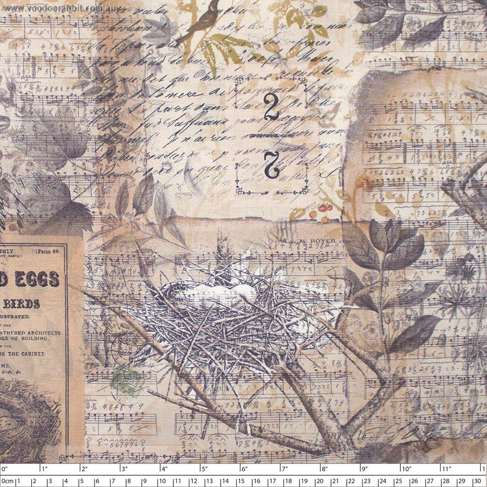 Eclectic Elements- Tim Holtz Wallflower- Eggs & Nest PWTH031.8MULTI