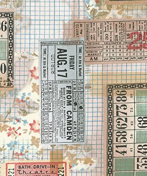 Eclectic Elements- Tim Holtz Tickets PWTH091.MULTI