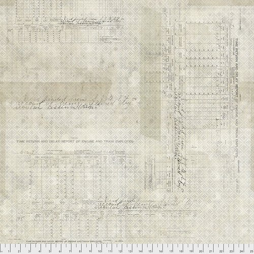 Eclectic Elements- Tim Holtz - Memoranda Time Return PWTH104.NEUTRAL