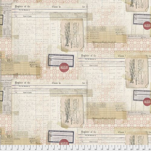 Eclectic Elements- Tim Holtz - Memoranda  Perfect Attendance PWTH107.MULTI
