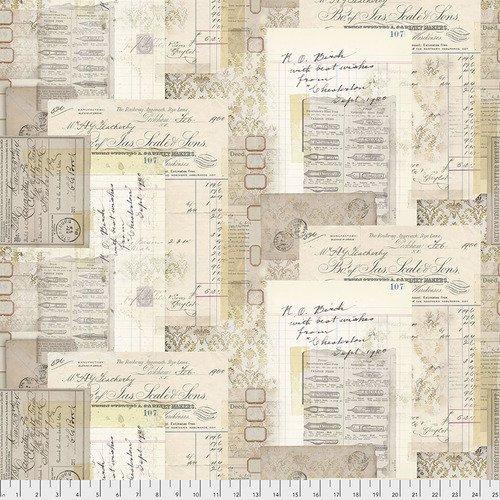Eclectic Elements- Tim Holtz - Memoranda  Cabinet Makers PWTH111 Multi