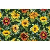 Wilmington Prints- Flowers of the Sun 1419 79259 758