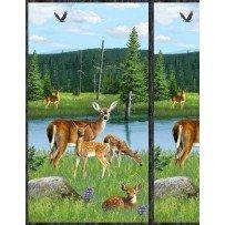 Wilmington Prints- Oh Deer 1662 722 30160 Panel