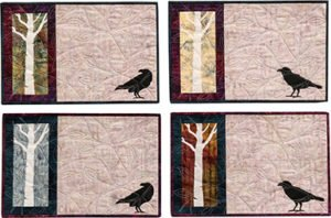 Ravenwoods-Table Runner and 4 Placemats