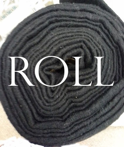 Black 60% Cotton 40% Poly Batting B96CPB-30   96 X 30 Yards