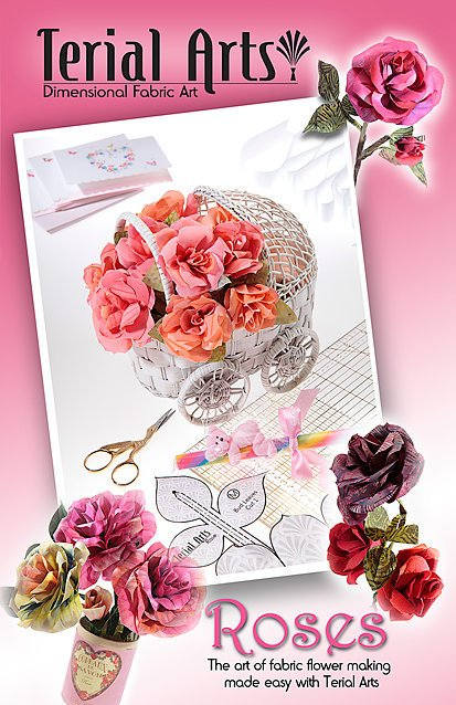 Terial Arts: Roses Pattern