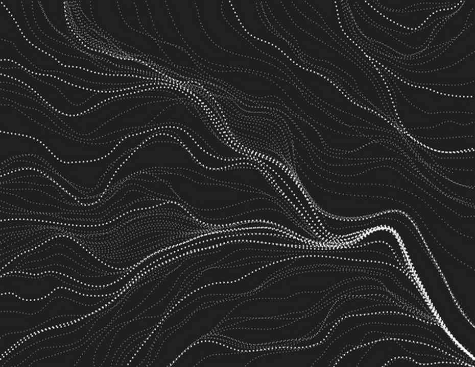 MS Textiles- Australian- Sandhill Charcoal SANC -Designed by Anna Pitjara