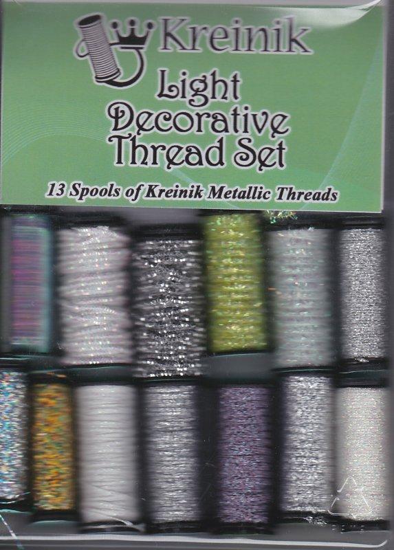 Kreinik: Light Decorative Thread Kit
