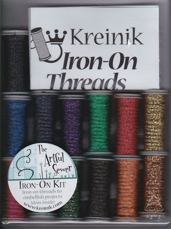 Kreinik: Metallic Iron-On Threads Kit