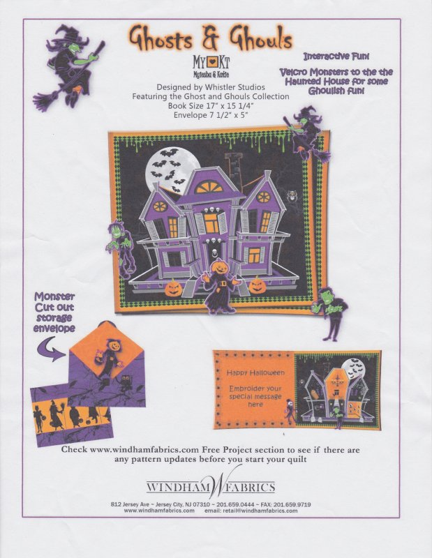 Windham Fabrics: Ghosts & Ghouls Kit