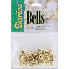 Jingle Bells 3/8 Gold (18)