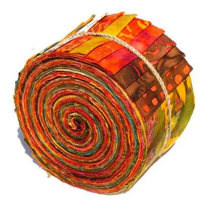 Batik by Miriah Precuts  - Sushi Roll SUR-4 Autumn Leaves