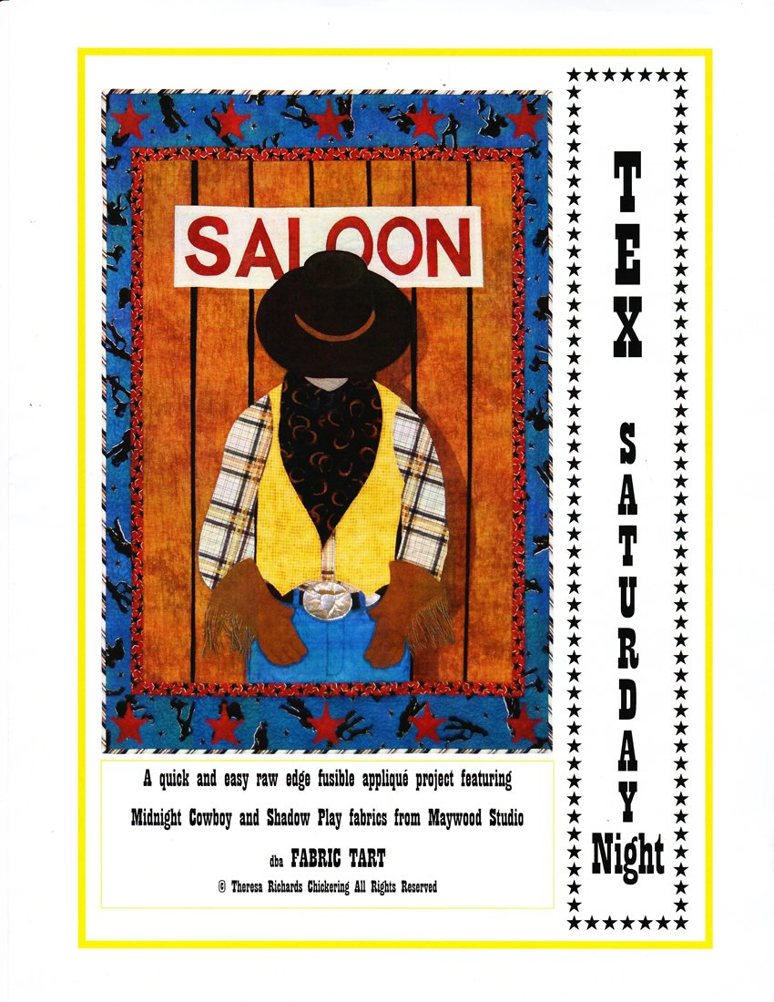Tex- Saturday Night quilt designed by Theresa Richards Chickering