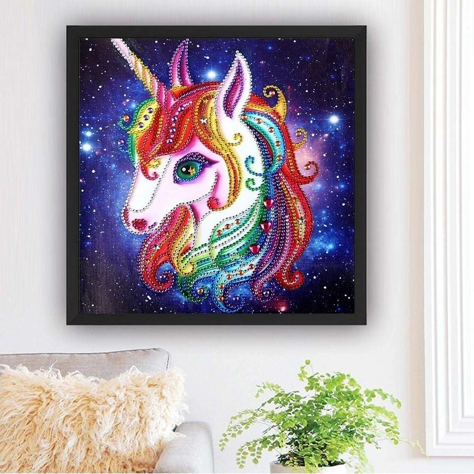 Unicorn Diamond Art