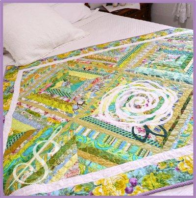 Sewn Into the Fabric: Lazy Daisy #121-S