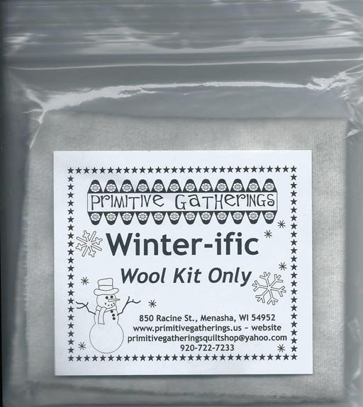 Winter-Ific Wool Kit For Applique