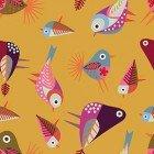 Clothworks-Stitch Cats Y2581-69 Dark Gold