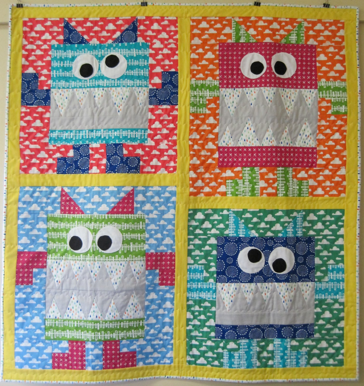 No Monsters Allowed Quilt
