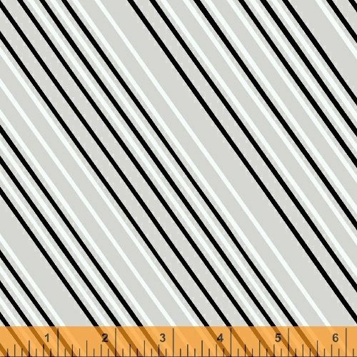 Airmail Stripe - Gray