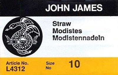 JJ Milliners Needles/Straw #10