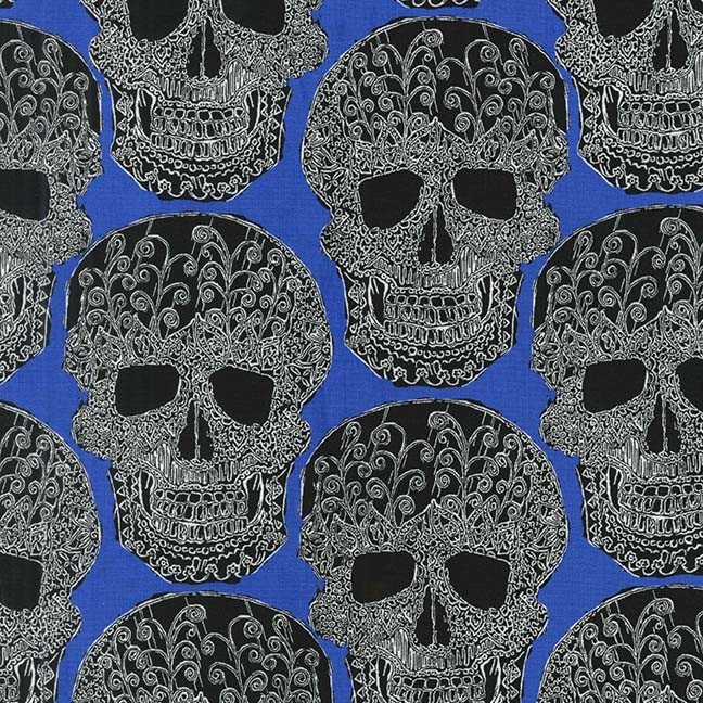 Art Skull - Royal Blue