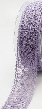 Crochet Ribbon 1 1/2in - Lavender