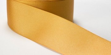 Grosgrain Ribbon 1 1/2in - Gold