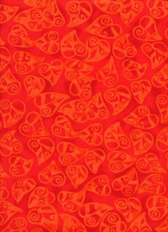 Calypso Orange Hearts