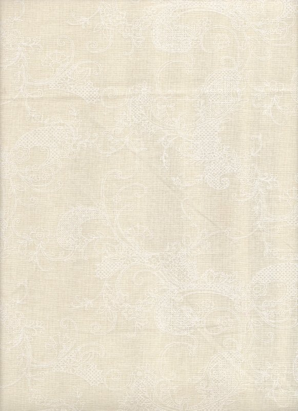 Ivory Scroll Quilter's Flour