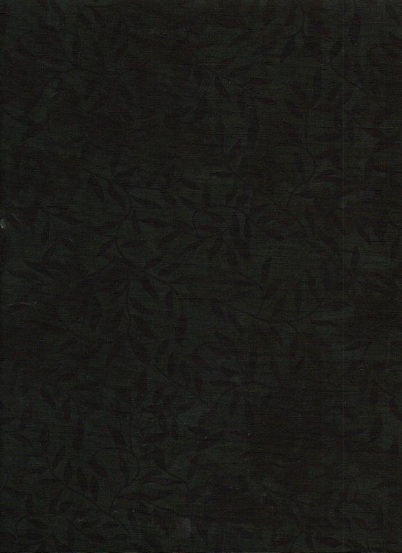 Black Vines Tone-on-Tone Batik