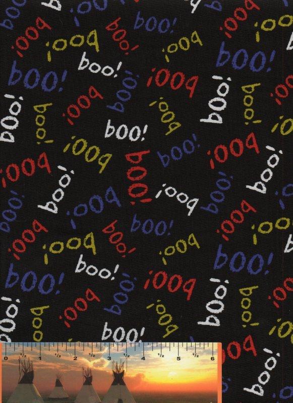 Boo Multi-Brights on Black